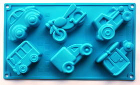 "Picture of Silicone mold ""Vehicles"""