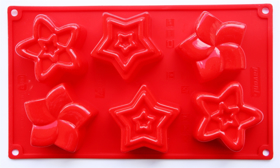 """Picture of Silicone mold """"Stars"""""""