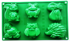 "Picture of Silicone mold ""Grove beasties"""