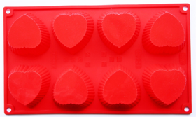 """Picture of Silicone mold """"Hearts"""""""