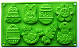 "Picture of Silicone mold ""Easter"""