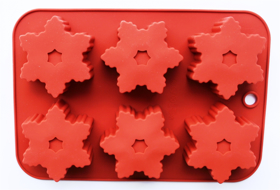 "Picture of Silicone mold ""Snowflakes"""