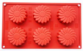 "Picture of Silicone mold ""Daisies"""