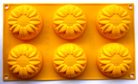 """Picture of Silicone mold """"Sunflowers"""""""