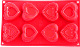 "Picture of Silicone mold ""Hearts"" (different shapes)"