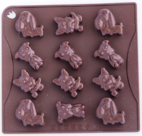 "Picture of Silicone mold ""Doggies"""