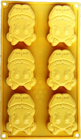 "Picture of Silicone mold ""Cows"""