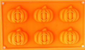 """Picture of Silicone mold """"Halloween Pumpkins"""""""