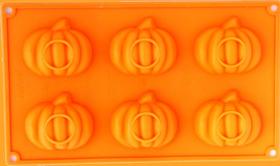 """Immagine di Stampo silicone """"Zucche Halloween"""""""
