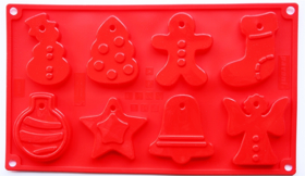 """Picture of Silicone mold """"Christmas"""""""