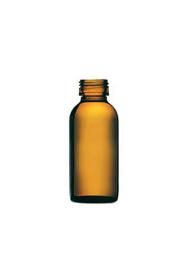 Immagine di Flacone vetro giallo per laboratorio ml. 50 Ambra / Bianco ml. 50 Ambra / Bianco
