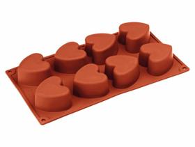 Immagine di Stampo silicone Cuori grandi